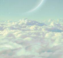 Dream Above The Clouds Sticker