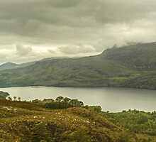 Loch Maree and Slioch by Jamie  Green
