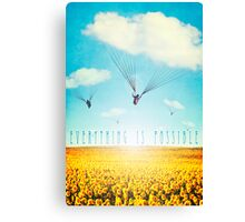 Thursday Dream - Cloud Ride Canvas Print
