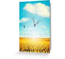Thursday Dream - Cloud Ride Greeting Card