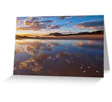 Reflected Clouds - South West Rocks, NSW Greeting Card