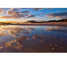 Reflected Clouds - South West Rocks, NSW Photographic Print
