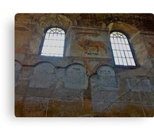 Rimanov synagogue, one of the oldest in Poland, is again the property of the Jewish community. Canvas Print
