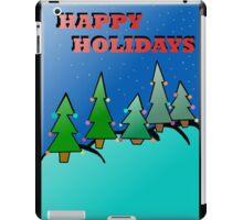 Holidays trees iPad Case/Skin