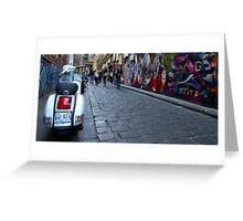 Hosier Lane - Melbourne, Australia Greeting Card