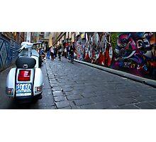 Hosier Lane - Melbourne, Australia Photographic Print