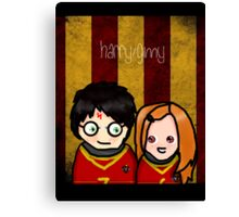 Hinny T-Shirt (Inverted) Canvas Print