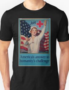 Join Red Cross symbol Americas answer to humanitys challenge T-Shirt