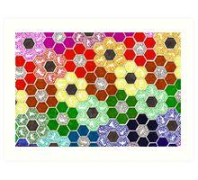 Rainbow Panel 1 Art Print