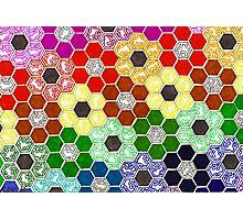 Rainbow Panel 1 Photographic Print