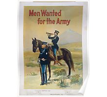 Men wanted for the army 1 Poster
