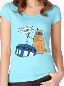 EXCAVATE!! Women's Fitted Scoop T-Shirt