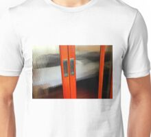 Ribbed Glass Doors - A Half Made Bed Unisex T-Shirt