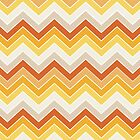 Autumn {chevron pattern} by sweettoothliz