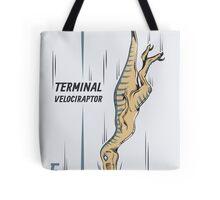 Terminal Velociraptor Tote Bag