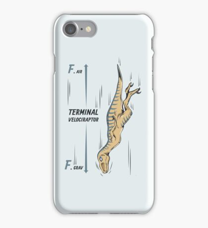 Terminal Velociraptor iPhone Case/Skin