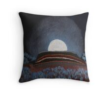 Moonrise Over Gumbo Knob Throw Pillow