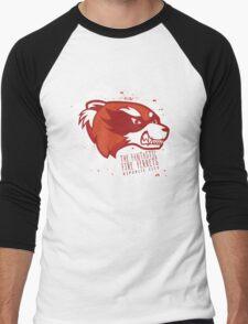 The Fantastic Fire Ferrets Men's Baseball ¾ T-Shirt