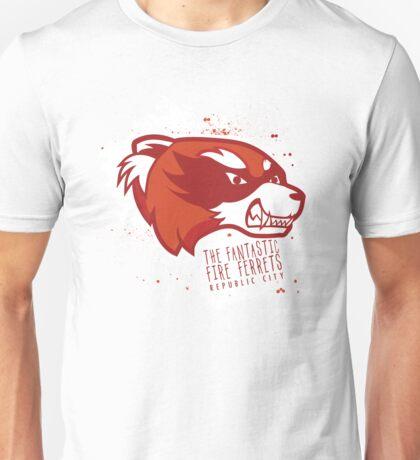 The Fantastic Fire Ferrets Unisex T-Shirt