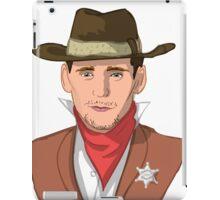Tom Hiddleston - Western Cowboy iPad Case/Skin