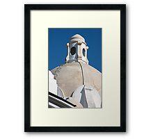 Capri Cupola Framed Print