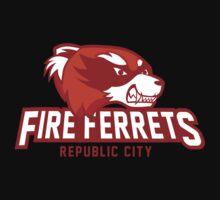 Republic City Fire Ferrets One Piece - Long Sleeve