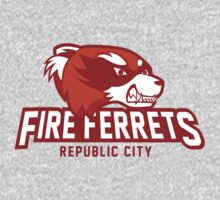 Republic City Fire Ferrets One Piece - Long Sleeve