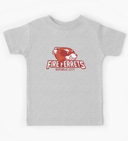 Republic City Fire Ferrets Kids Tee