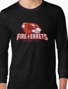 Republic City Fire Ferrets Long Sleeve T-Shirt
