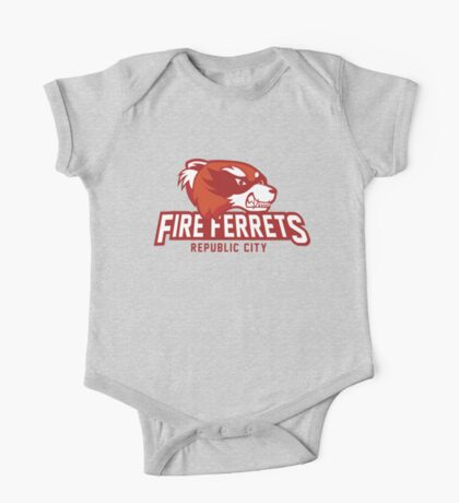 Republic City Fire Ferrets One Piece - Short Sleeve