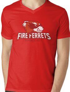 Republic City Fire Ferrets Mens V-Neck T-Shirt