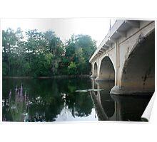 bridge in niles michigan Poster