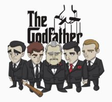 The Godfather Comic Art Kids Clothes