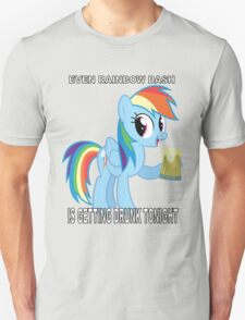 My Little Pony - Drinking With Rainbow Dash T-Shirt