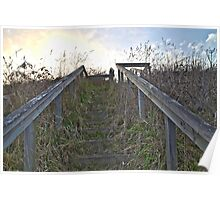Countryside Steps Poster