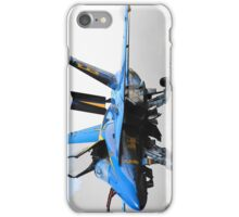 Blue 6 iPhone Case/Skin