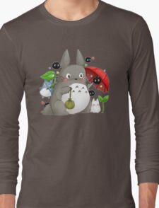 Totoro and friends Long Sleeve T-Shirt