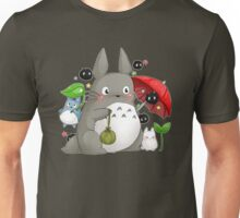 Totoro and friends Unisex T-Shirt
