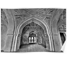 The arches of Sajja Kothi - Fort Panhala Poster