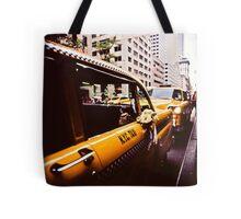 Vintage NYC Taxi Tote Bag