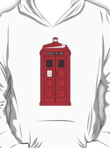 """""""The 70's Cops have the phonebox..."""" T-Shirt"""