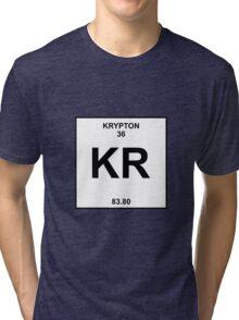 Krypton Periodic Table Tri-blend T-Shirt