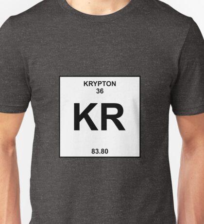 Krypton Periodic Table Unisex T-Shirt