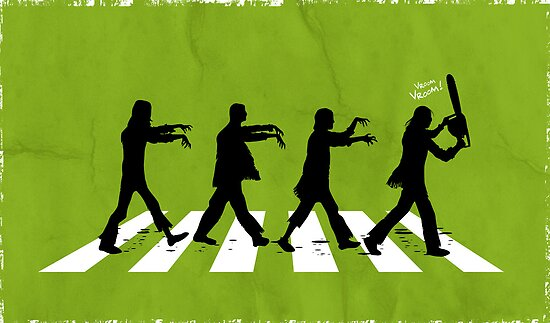 Zombies on Abbey Road Version 01 by soulthrow