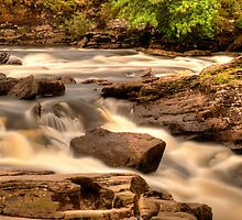 Falls of Dochart, Killin, Scotland.  by paulreid1975