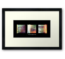 Cambridge Collection: The Secret Language of Trees Framed Print