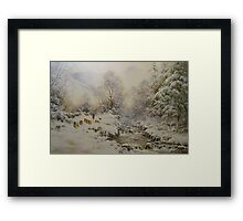Down the Gill, Helvellyn, Cumbria Framed Print