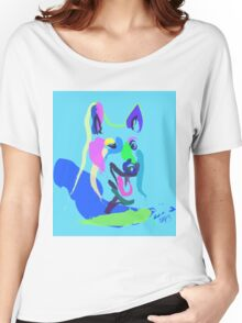 Dog- colour dog Women's Relaxed Fit T-Shirt