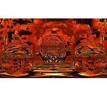 Morphing Tessellation Spheroids Photographic Print