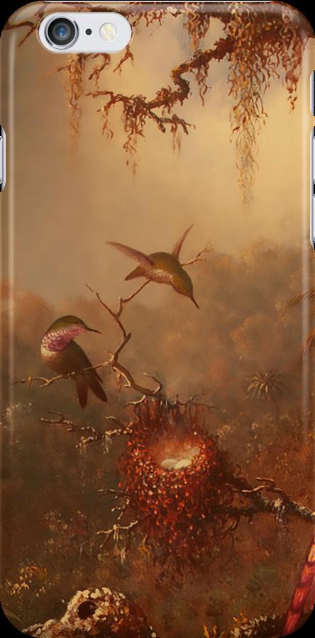 Hummingbirds in the Mist by Pamela Phelps